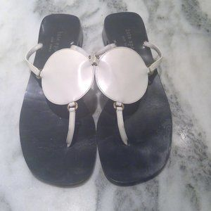Kate Spade white sandals size 7 1/2